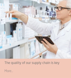 The quality of our supply chain is key to proving you the best products on time